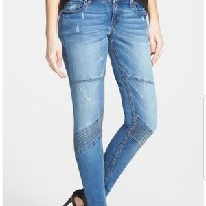 STS Blue Moto Skinny Jeans